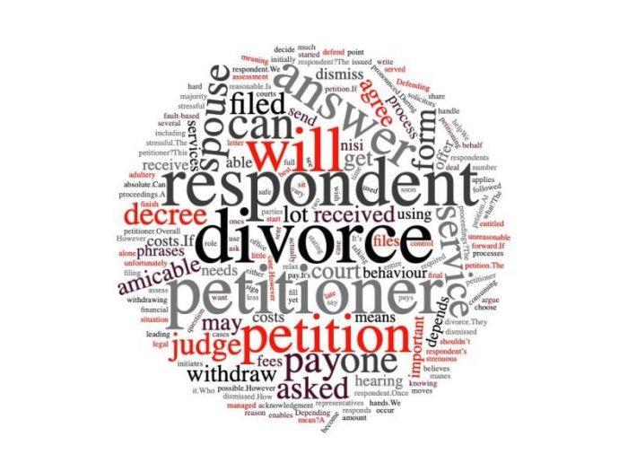 respondent divorce petitioner